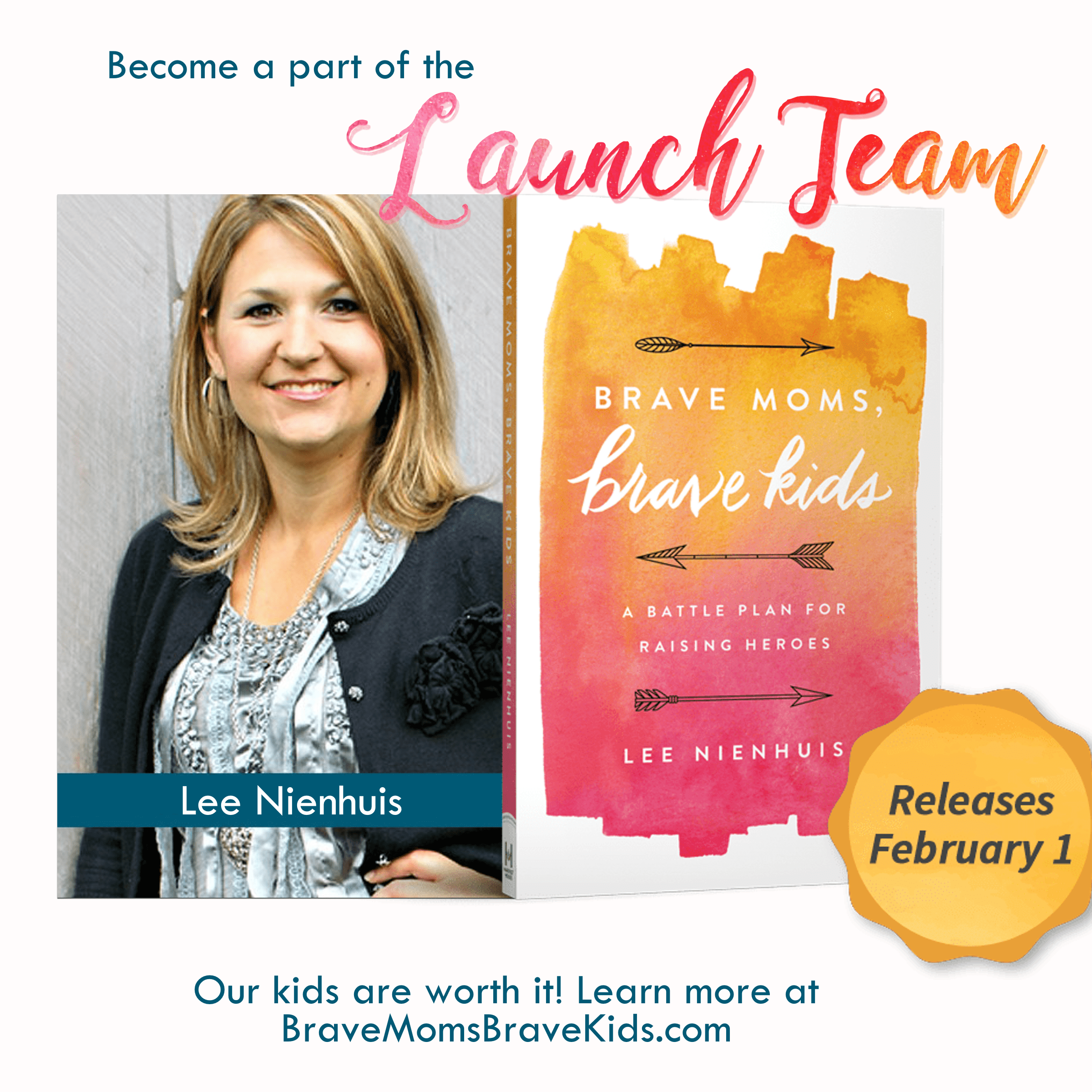 Join the Brave Moms, Brave Kids Launch Team!